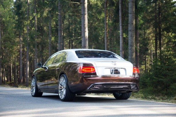 Mansory-tuned Bentley Flying Spur rear quarter