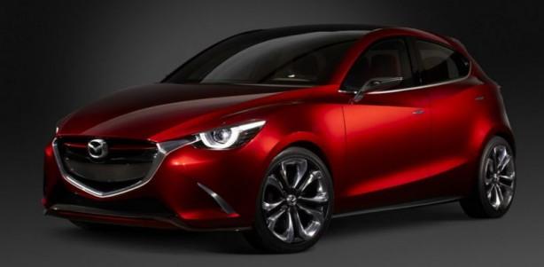 Mazda Hazumi Concept front quarter