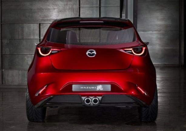 Mazda Hazumi Concept rear