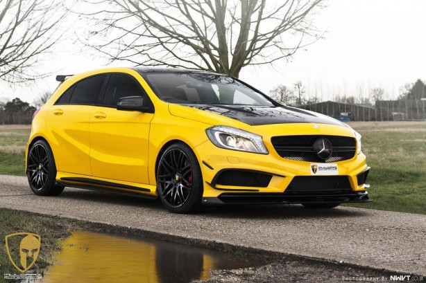 RevoZport-Mulgari-Mercedes-Benz-A45-AMG-front-quarter7