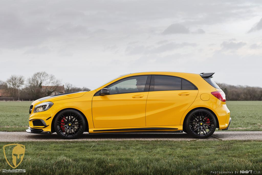 Mercedes-Benz Tuning: RevoZport and Mulgari spices up A45 AMG