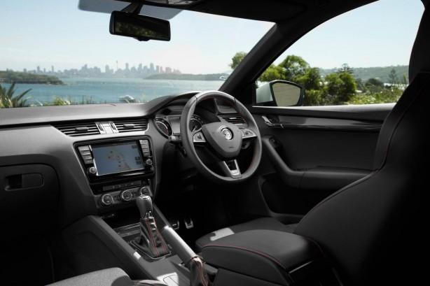 Skoda Octavia RS interior
