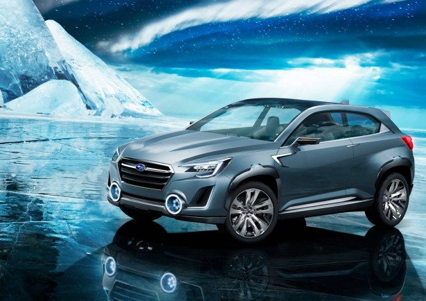 Subaru VIZIV 2 concept front quarter