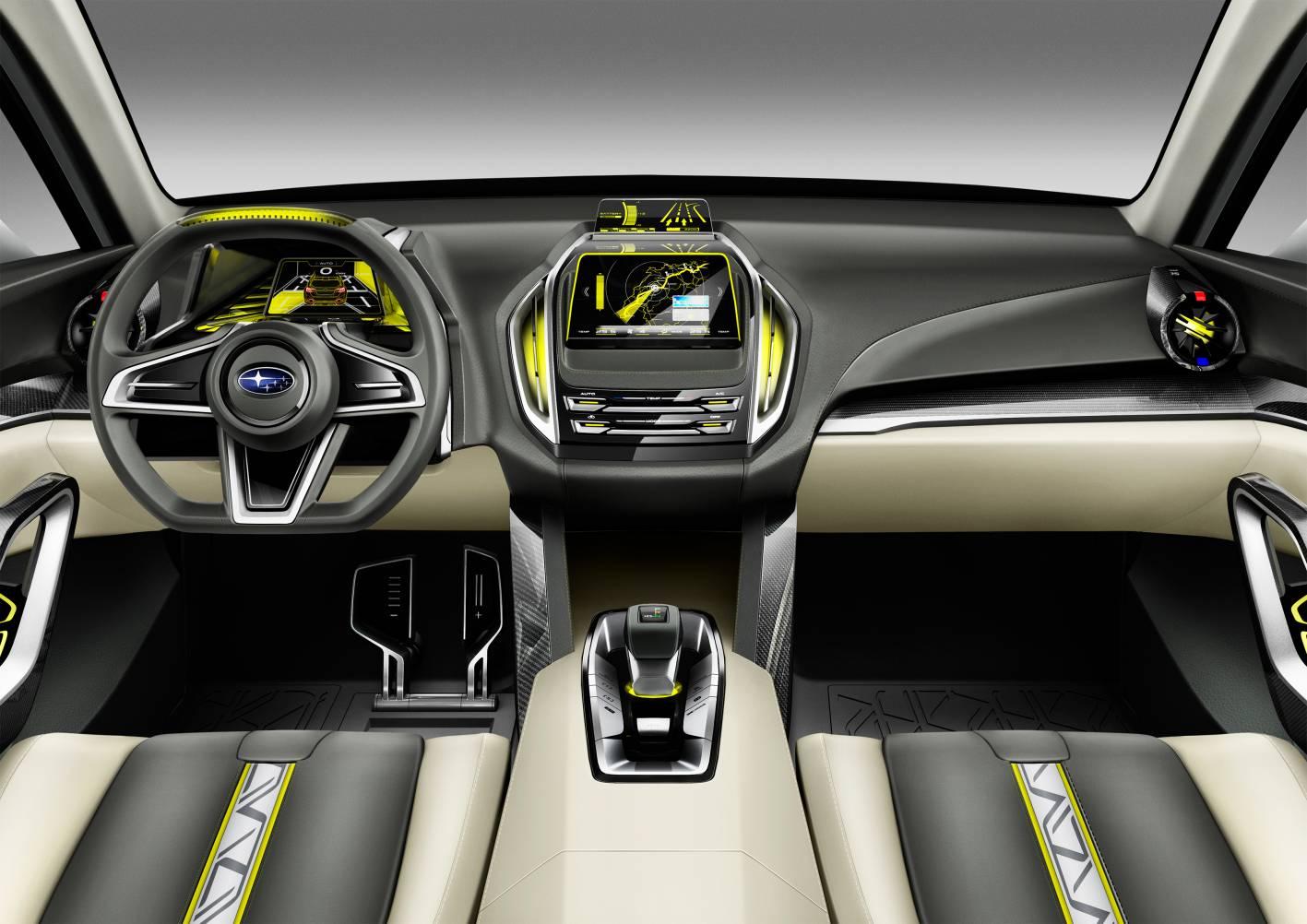Subaru viziv-7 interior