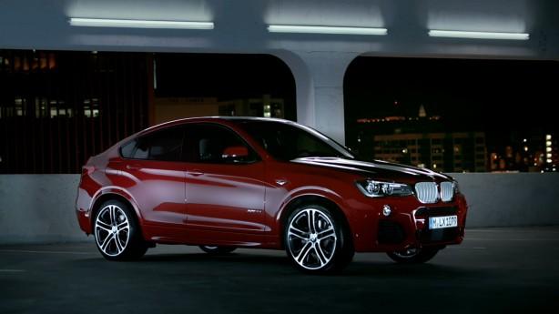 BMW X4 revealed
