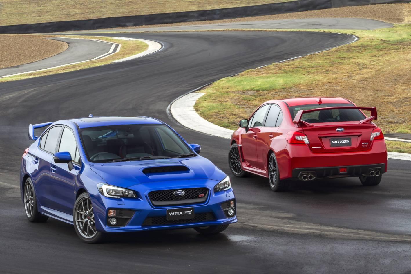 Subaru Cars - News: 2015 WRX STI pricing and specification