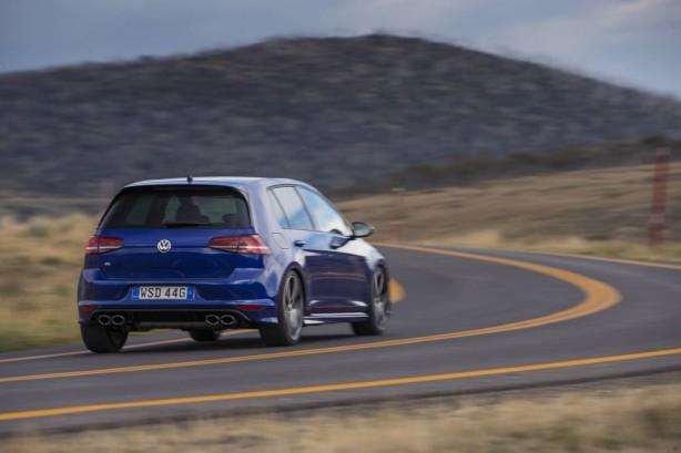 4th gen Volkswagen Golf R rear quarter