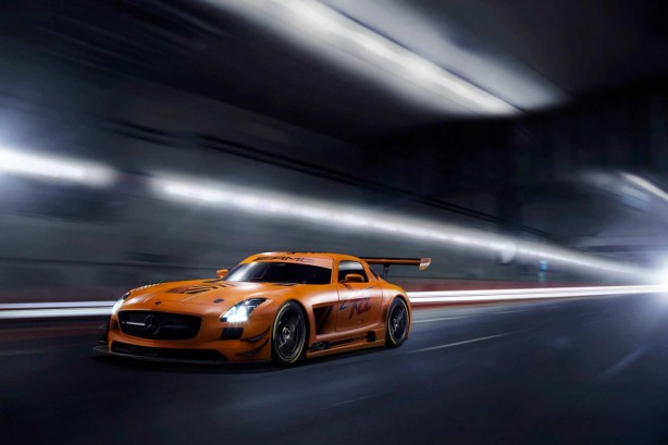 Mercedes-Benz SLS AMG 45th Anniversary Edition by Sievers Tuning front quarter