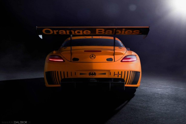 Mercedes-Benz SLS AMG 45th Anniversary Edition by Sievers Tuning rear