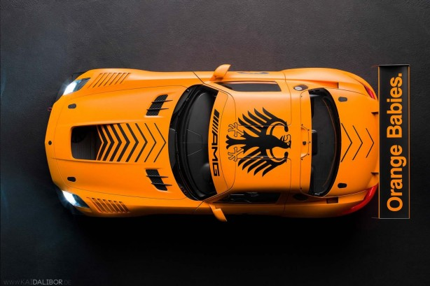 Mercedes-Benz SLS AMG 45th Anniversary Edition by Sievers Tuning top