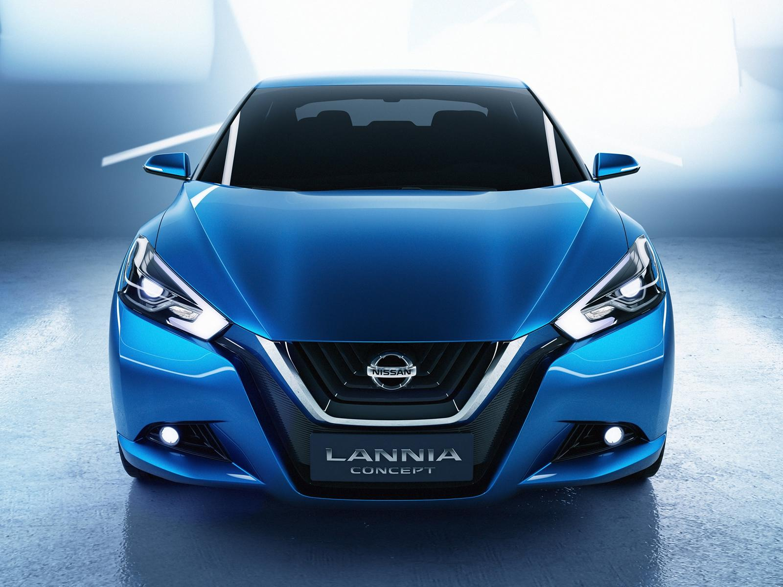 Nissan Cars - News: Lannia Concept for China unveiled