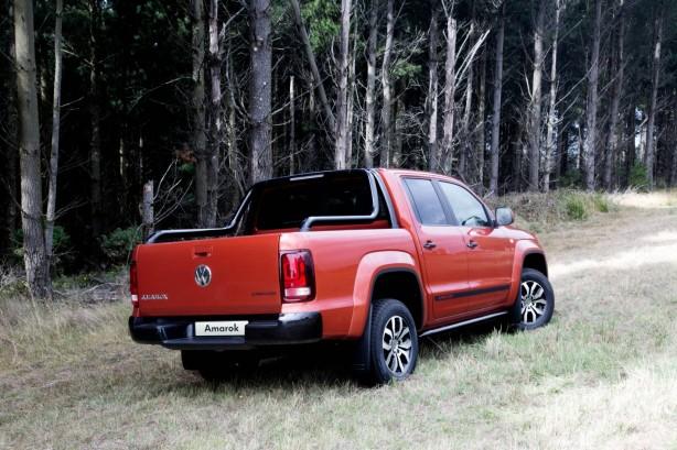 Volkswagen Amarok Canyon Special Edition rear quarter