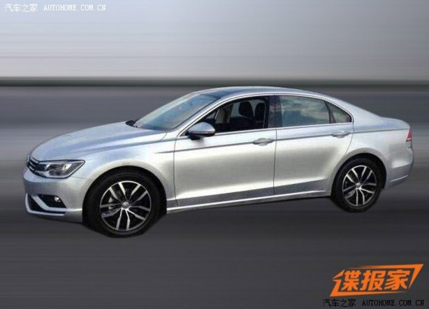 Volkswagen Midsize Coupe leaked