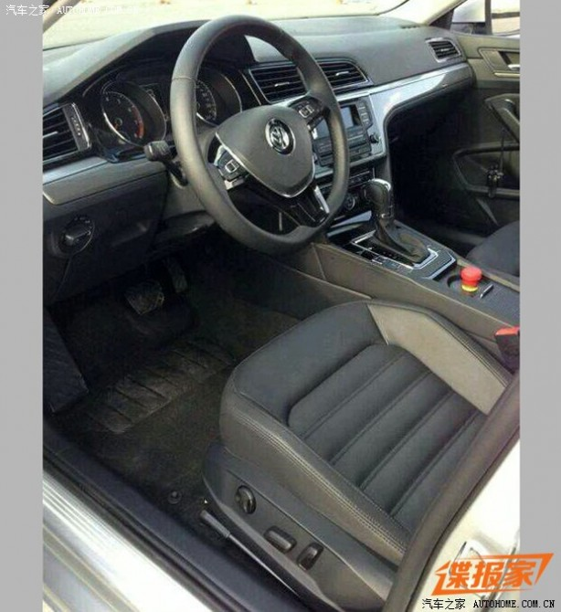 Volkswagen Midsize Coupe leaked image interior