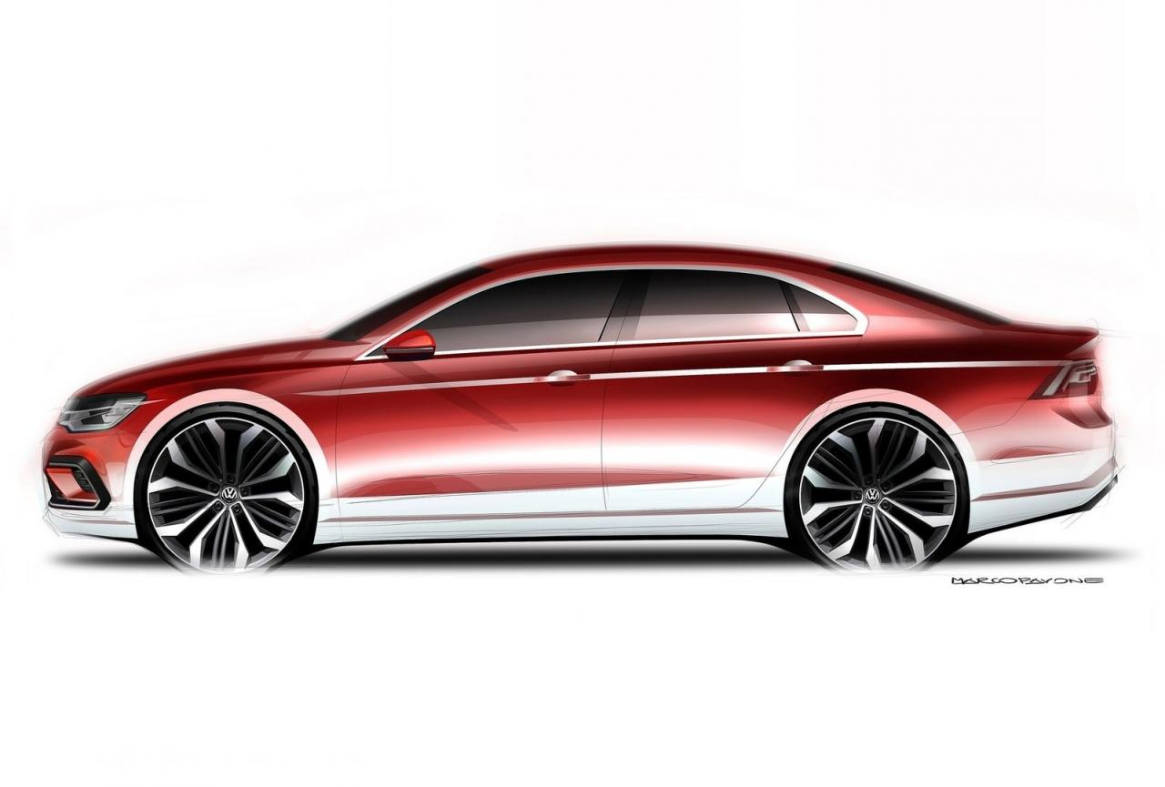 Volkswagen Cars News Midsize Coupe Concept Coming In 2016