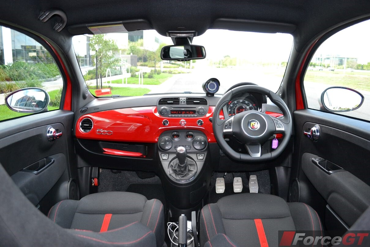 Abarth Esseesse Dashboard
