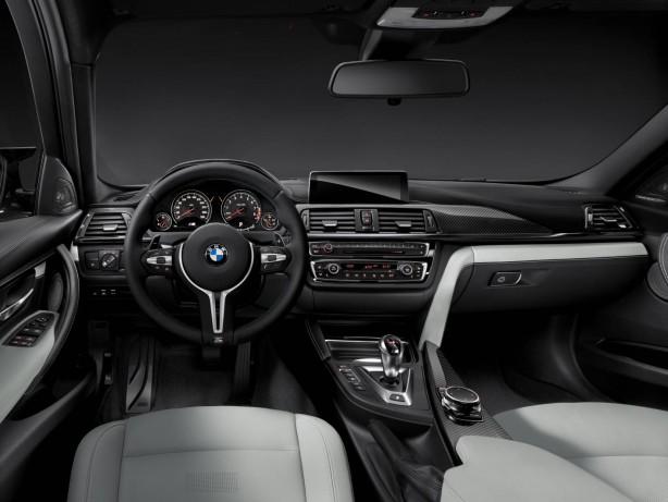 2014 BMW M3 sedan interior