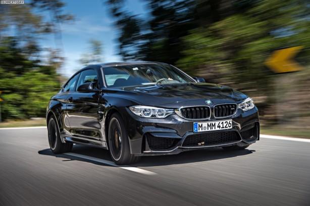 2014-BMW-M4-Coupe-Black-Sapphire-front-quarter