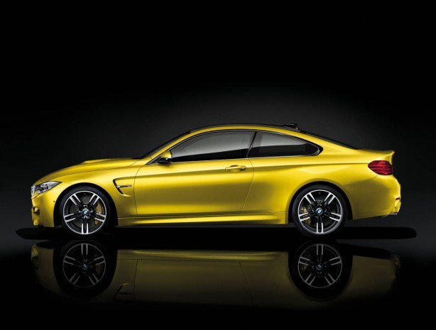 2014 BMW M4 Coupe side