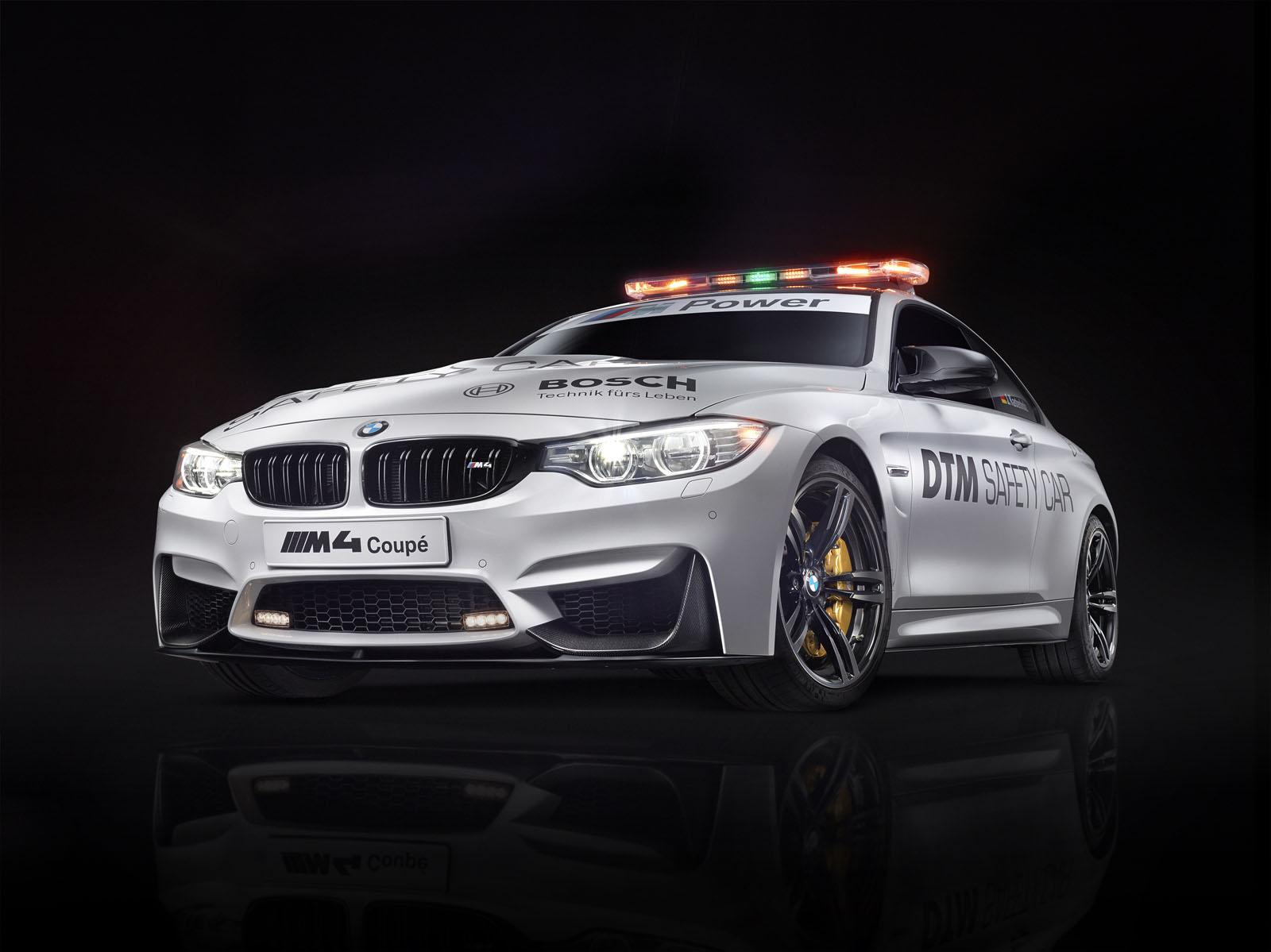 BMW Cars - News: M4 Coupe Safety Car to lead DTM races