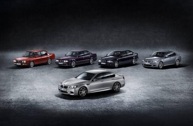 2014-BMW-M5-30th-Anniversary-Edition-group