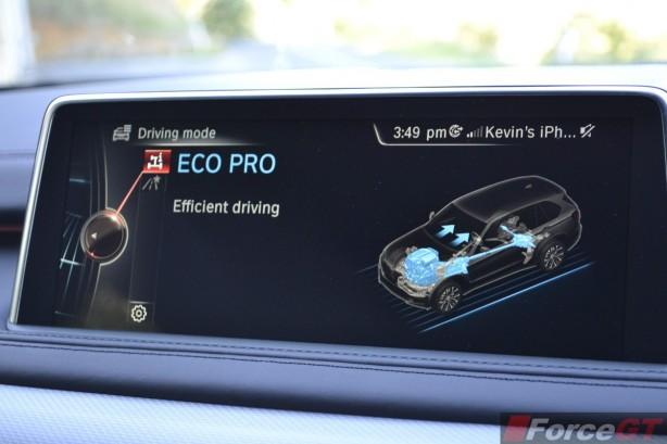 2014 BMW X5 M50d ECO Pro mode