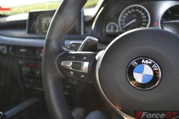 2014 BMW X5 M50d M Sport Steering