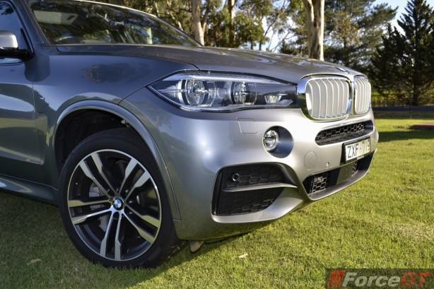 2014 BMW X5 M50d front bumper