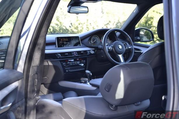 2014 BMW X5 M50d interior