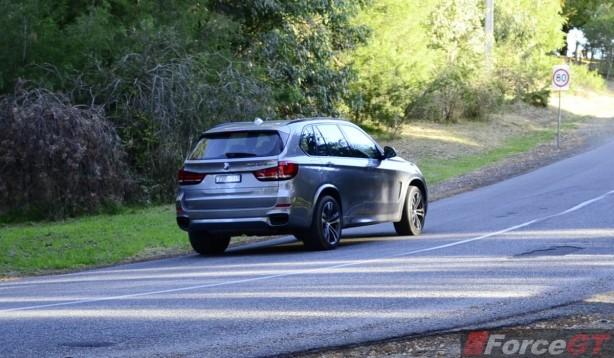 2014 BMW X5 M50d rear rolling