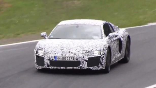 2015 Audi R8 prototype front
