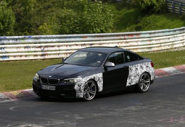 2015-BMW-M2-prototype-nurburgring-front-quarter