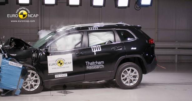 2015 Jeep Cherokee crash test 5-star