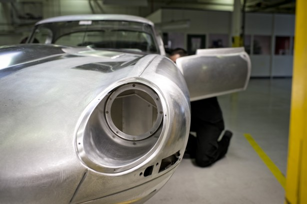The Lightweight E-Type Is Reborn