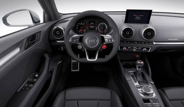 Audi A3 Clubsport quattro concept interior