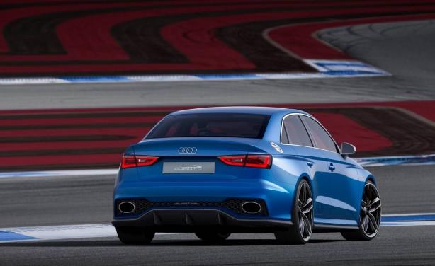 Audi A3 Clubsport quattro concept rear quarter