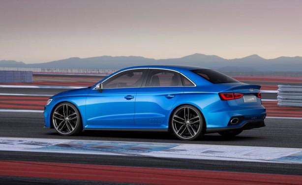 Audi A3 Clubsport quattro concept side