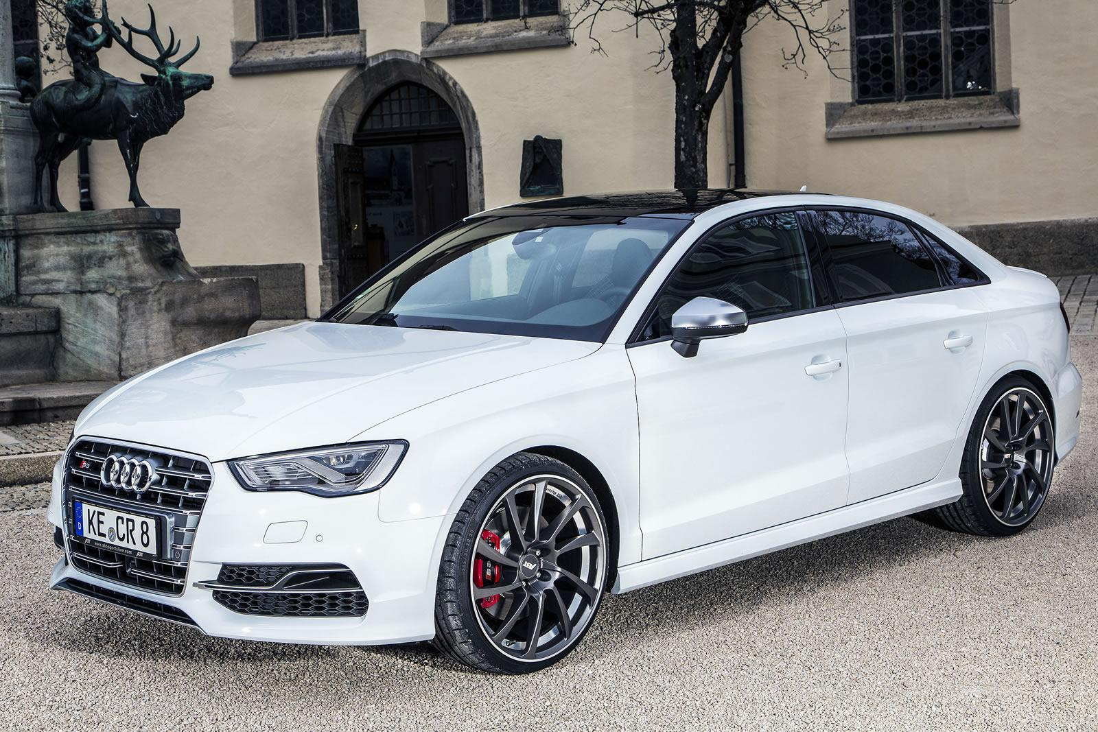 Q7 Review >> Audi Tuning: ABT-tuned S3 Sedan does 0-100km/h in 4.5s