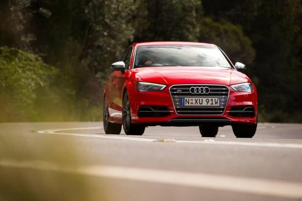 Audi S3 Sedan front