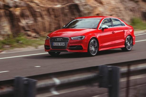 Audi S3 Sedan front quarter