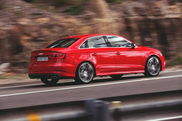 Audi S3 Sedan rear quarter