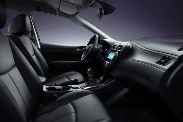 European market Nissan Pulsar interior