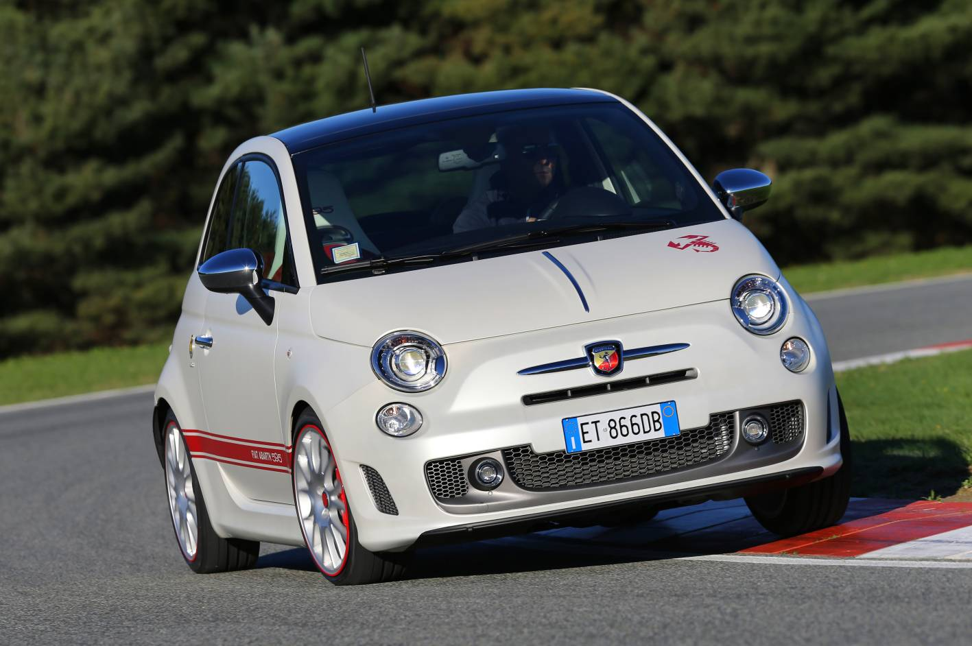 fiat cars news abarth 595 50th anniversary launched. Black Bedroom Furniture Sets. Home Design Ideas