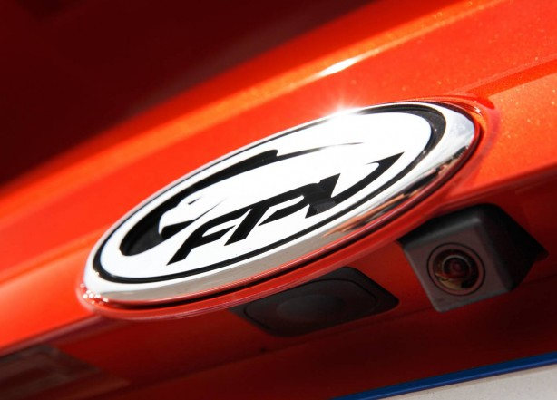 Ford FPV GT-P badge
