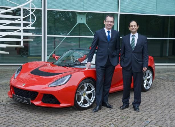 Jean-MarcGales - CEO of Group Lotus and Aslam Farikullah