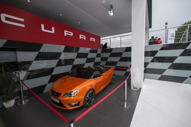 SEAT Ibiza CUPRA concept front quarter