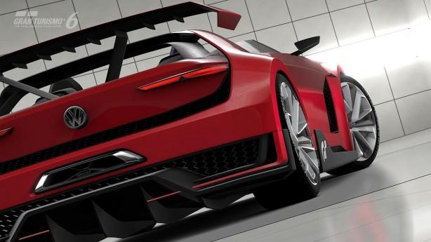 Volkswagen Golf GTI Vision Gran Turismo Roadster rear