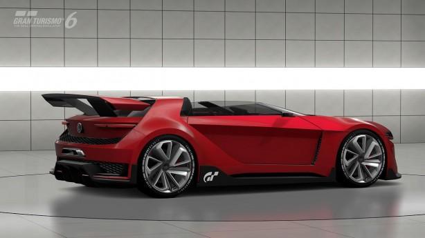 Volkswagen Golf GTI Vision Gran Turismo Roadster side-1