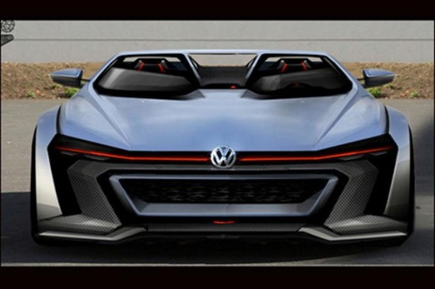 Volkswagen Golf GTI Vision Gran Turismo front