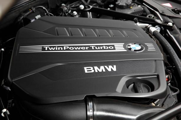2014 BMW 535d engine